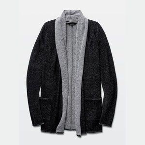 Aritzia Babaton Beekman Cardigan Grey Size XXS